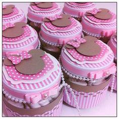 Marshmallow Minnie Rosa! #amomuitotudoisso #projetominnierosa #minnierosa #minnie #festademenina #t - vanessacunhanevesfaht