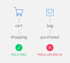 Add to Cart vs. Add to Bag: Which Button Label to Use - UX Movement