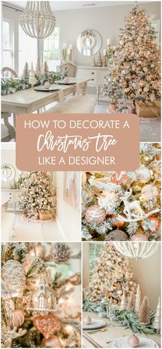 How to Decorate a Christmas Tree Like a Designer (Step by Step Video) French Christmas Tree, Christmas Tree Design, Christmas Tree Themes, Diy Christmas Tree, Christmas Love, Country Christmas, Xmas Tree, All Things Christmas, Mannequin Christmas Tree