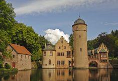 Schöne Schlösser und Burgen: Schloss Mespelbrunn, Bayern