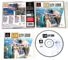 Playstation 1 SimCity 2000 für Ps1 in OVP!