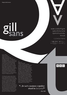 Betreff - Seite 5 - Seb Summers - Subject – Page 5 – Seb Summers Gill sans Creative Typography, Typography Letters, Typography Logo, Graphic Design Typography, Vintage Typography, Typo Poster, Poster Fonts, Typographic Poster, Gill Sans