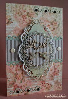 walentynkowa kartka Les Brown, Cardmaking, Scrapbook, Frame, Blog, Home Decor, Picture Frame, Making Cards, Decoration Home
