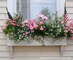 Lovely summer window box.