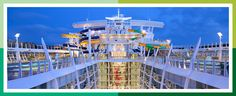 The world's biggest cruise ship is meant for thrill seekers- The Harmony of the Seaa- on mine and Josh's bucket list