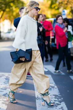 #PFW Street style Photo: Nabile Quenum for The Cut.