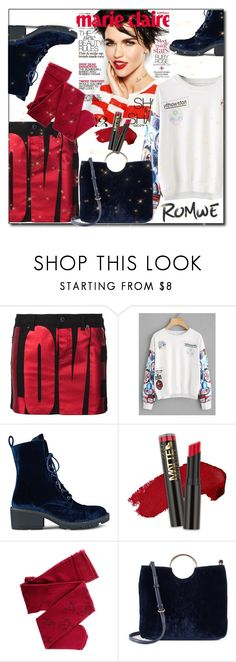 """""""Romwe day"""" by beautiful-723 ❤ liked on Polyvore featuring Givenchy, Kendall + Kylie, L.A. Girl and LC Lauren Conrad"""