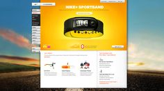 #Nike Projects by Adam Jesberger, via #Behance #Webdesign