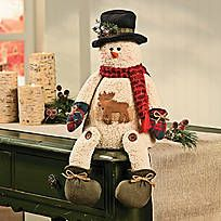 Mrs. Softy the Snowman can be a Christmas gift for someone you care about or can be a Christmas decoration to add warmth to your own home. A perfect sentiment ...