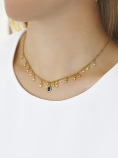Elephant Necklace / Diamond Elephant Charm Necklace in Gold / Gold Necklace / Baby Elephant / Lucky Charm Necklace / Animal Necklace - Fine Jewelry Ideas Gold Necklace Simple, Gold Jewelry Simple, Stylish Jewelry, Simple Necklace Designs, Circle Necklace, Jewelry Design Earrings, Gold Earrings Designs, Gold Bangles Design, Gold Jewellery Design