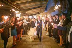 Joanne & Seth's wedding at the South Carolina Aquarium. Wedding by Hamby Catering & Events.