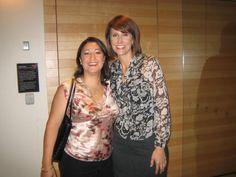 CEO Samea Maakrun and Natalie Barr