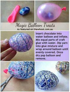Magic #Easter Egg #Craft #DIY