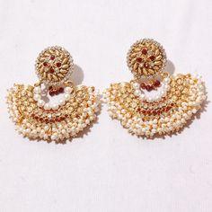 Maroon Stone Unique Jewellery
