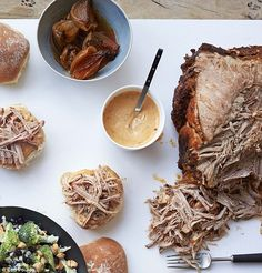 Slow-cooked smoky pulled pork butt with chipotle mayo, Gordon Ramsay, U Home Cooking