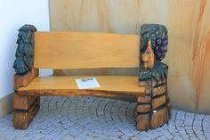 Gartenbank mit Weinreben, www.original-ruhm.de