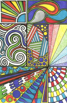 Sharpie Doodle Art | sharpie panel doodle by marisasarina ...