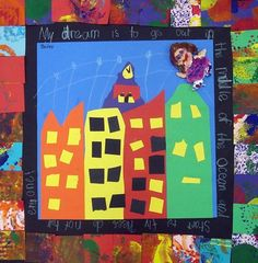 """From exhibit """"Faith Ringgold Story Quilts""""  by Bailey3738"""