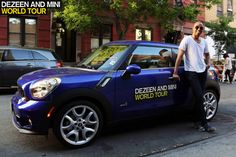 Stephen Burks takes MINI Paceman on a tour New York's west side.