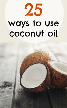One jar of coconut oil can do so much! 25 ways to use coconut oil in the kitchen, on your hair, on your skin, in your beauty routine and more!