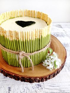 chocOlate matcha green tea cake