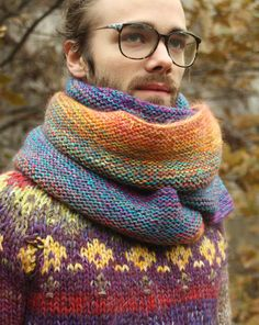 Warm and soft bright and colorful  unisex scarf  made from best quality wool made in Latvia    2.30 X 0.22 cm