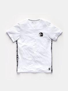 tape t-shirt wit