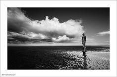 Crosby Beach by Ian Bramham, via Flickr
