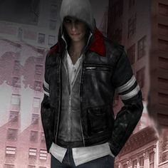 Men's leather jackets can be a crucial component to every single man's wardrobe. Men will need outdoor jackets for a variety of activities as well as some varying weather conditions. Fashion Jacket For Men. Alex Mercer, Prototype 2, Games Zombie, Leather Men, Leather Jackets, Rain Suit, Traditional Fashion, Video Game Characters, Are You The One