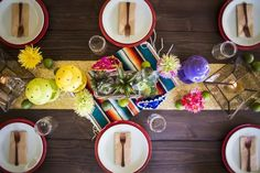 How great is this Mexican Fiesta themed engagement party tablescape? Mexican Fiesta Party, Fiesta Theme Party, Craft Party, Diy Party, Engagement Party Games, Dinner Party Decorations, Church Decorations, Pre Wedding Party, Home Grown Vegetables