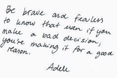 Good reason.