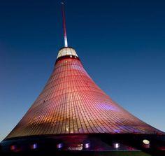World's tallest tensile structure Astana, Kazakstan – Khan Shatyr Entertainment Center