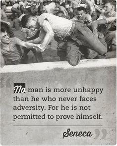 seneca quote unhappy man