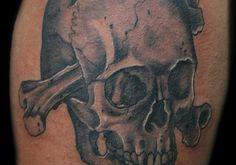 Skulls And Bones Tattoos 25 exciting skull tattoos for men creativefan