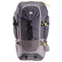 Batoh Forclaz 70 l na trekking tmavošedý Hydration Pack, Trekking, North Face Backpack, Backpacking, Tent Stove, Bags, Decathlon, Iceland, Bedding
