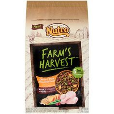 NUTRO Farms Harvest Adult Lamb and Whole Brown Rice 24 lbs >>> Be sure to check out this awesome product. This is an Amazon Affiliate links.