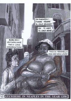 Vorspann Seite 3: Dieser Vorspann ist nicht von Boccaccio sondern meine ureigene Erfindung. Aber er folgt Boccaccios Meinung, dass manche arme Frauen gerne ihr Gehalt aufbessern.