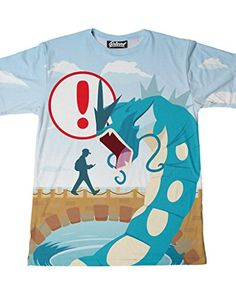 426b8b43 Beloved Shirts Loading Screen Pokemon T-Shirt – Premium All Over Print  Graphic Tees – Large – Pokemon Tshirt for Men