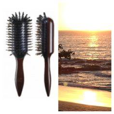 Detangles hair at the beach with ease:)). Hairbrush, Hair Type, Good Things, Beach, Style, Swag, Hair Color Brush, The Beach, Beaches