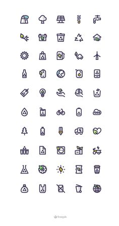 https://www.behance.net/gallery/29841759/Eco-Icon-Set?