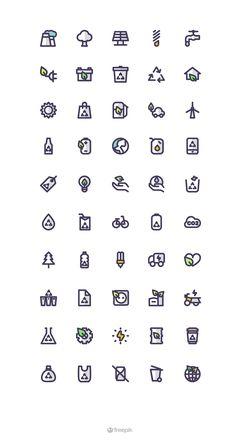 https://www.behance.net/gallery/29841759/Eco-Icon-Set?