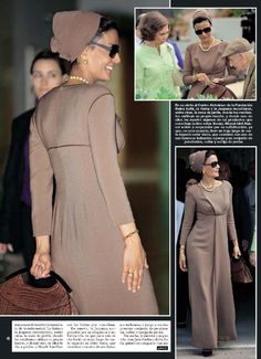 one of the best dress woman in my opinion.sheikha mozah of qatar.l like her style and her stylist Modest Fashion, Hijab Fashion, Fashion Dresses, Hijab Style, Hijab Chic, Royal Fashion, Love Fashion, Womens Fashion, Modest Dresses