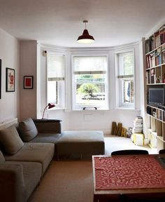 International Inspiration: 15 Small, Stylish Homes Around the World... I would just put a reading nook next to the window