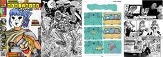 Imagen extraída con 4 ejemplos de los fanzines que pueblan el universo de cómics de ComicSquare: New Ideas, Fanzipote, Polo Norte News y Gay + Art. Vean más en http://www.comicsquare.com/es/post/fanzines-de-comics-en-comicsquare