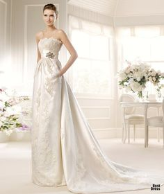 Perfect Wedding Dresses For someone long, tall & slender but really pretty!