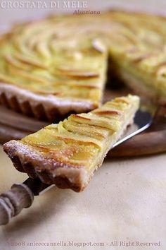 Mamma mi fai la torta di mele? Ma non questa , quella con la crostata intorno! Sì, perchè tempo prima, avevo fatto quella Alsaziana di Adria...