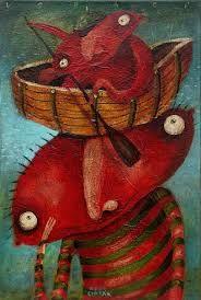 Výsledok vyhľadávania obrázkov pre dopyt Fero Lipták - tvorba Rooster, Painting, Animals, Art, Art Background, Animales, Animaux, Painting Art, Kunst