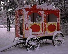 Circus Wagon- winter
