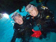 青の洞窟は透明度も抜群でしたね~! - http://www.natural-blue.net/blog/info_4868.html