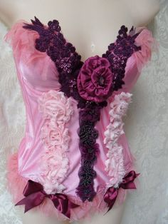 Updated vintage bustier... Ridiculously Romantic!